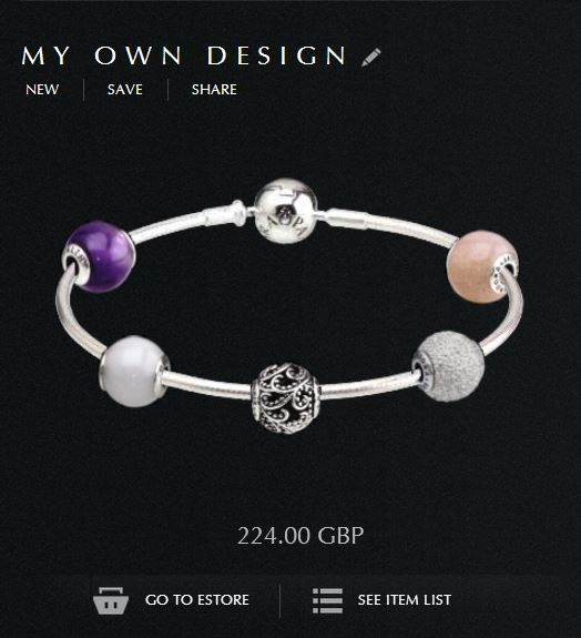 design your own pandora bracelet - Pandora Bracelet Design Ideas