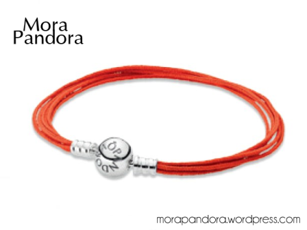pandora summer 2014 orange cord bracelet