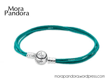 pandora summer 2014 teal cord bracelet