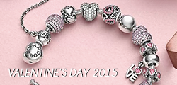 pandora VALENTINES 2015 button