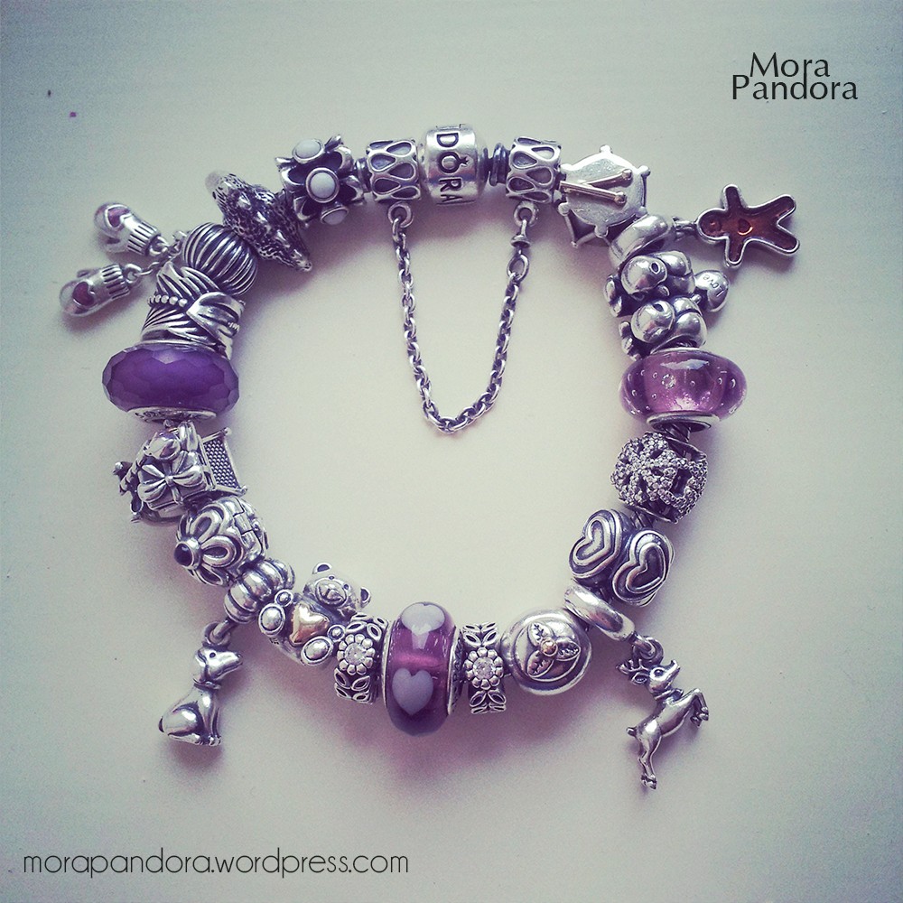 Bracelet Showcase: Pandora Oxidised Bracelet | Mora Pandora
