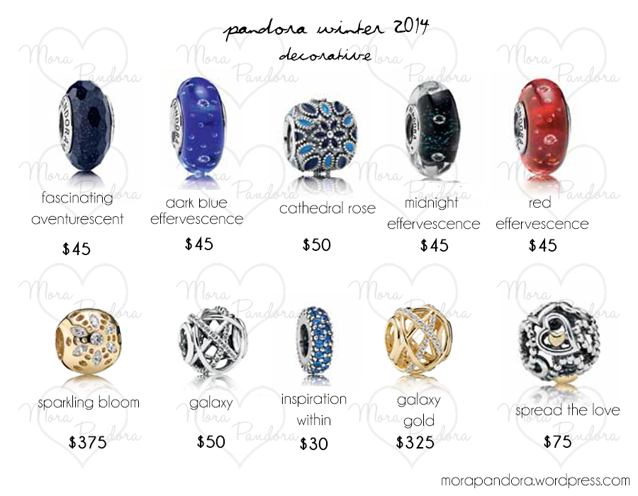 preview pandora winter 2014 collection prices mora