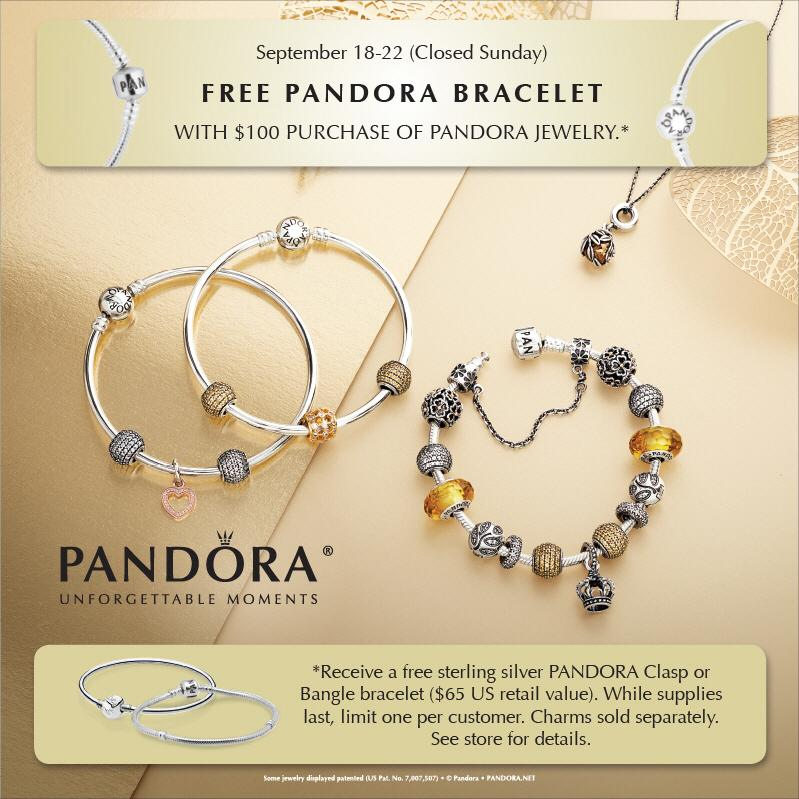 Pandora Jewelry Coupons Printable: Pandora Jewelry Deals Coupons / Spa Package Deals Portland