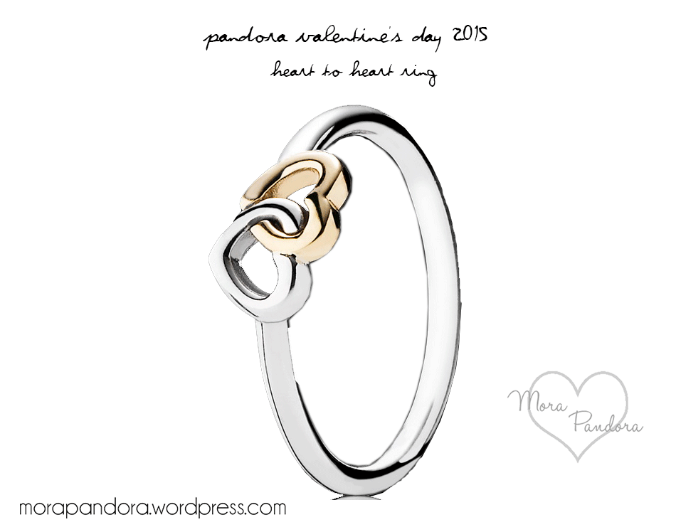 Pandora Valentine S Day 2015 Heart To Heart Ring Mora