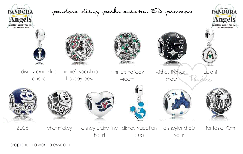 f58855b9834 Preview  Pandora Disney Parks Autumn Winter 2015 Collection